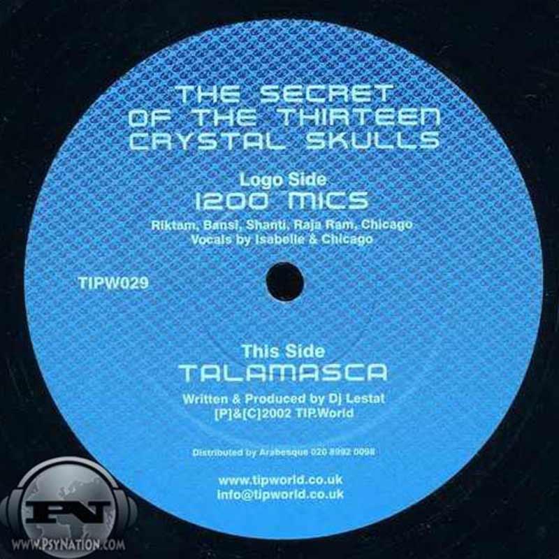 1200 Micrograms & Talamasca - The Secret Of The 13 Crystal Skulls EP