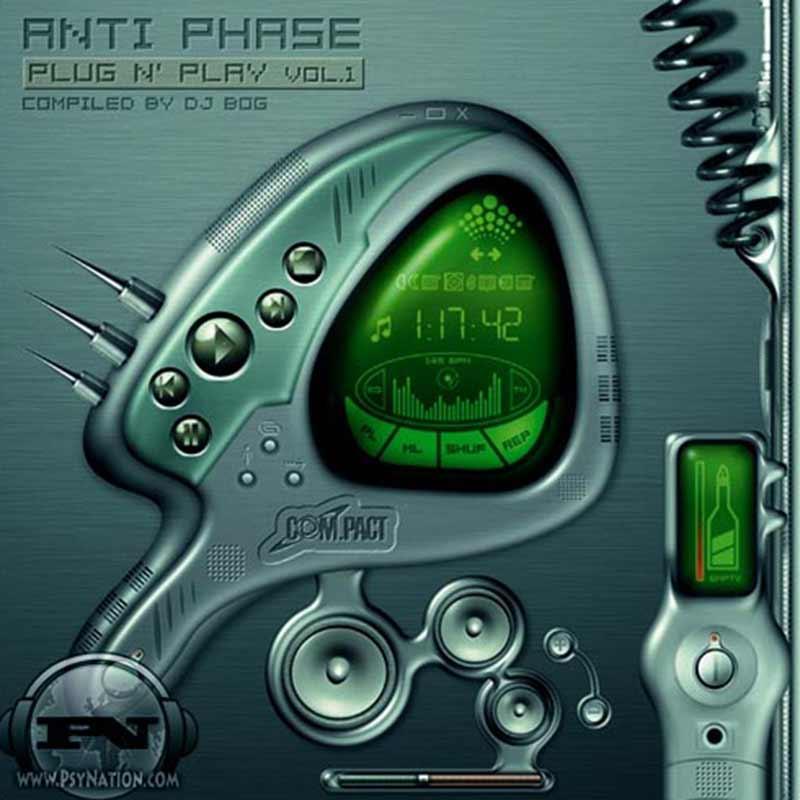 V.A. - Anti Phase: Plug N' Play Vol. 1 (Compiled by DJ Bog aka Visual Paradox)
