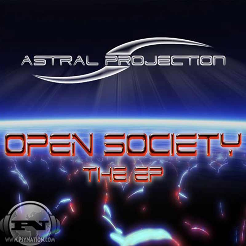 Astral Projection - Open Society EP