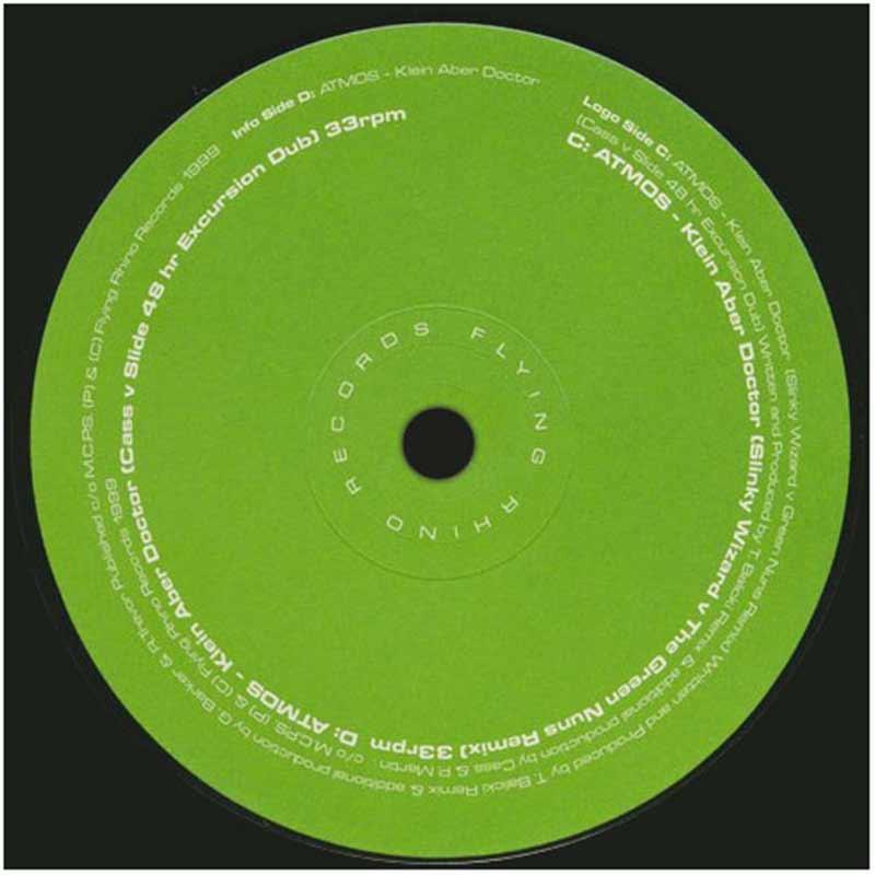 Atmos - Klein Aber Doctor EP