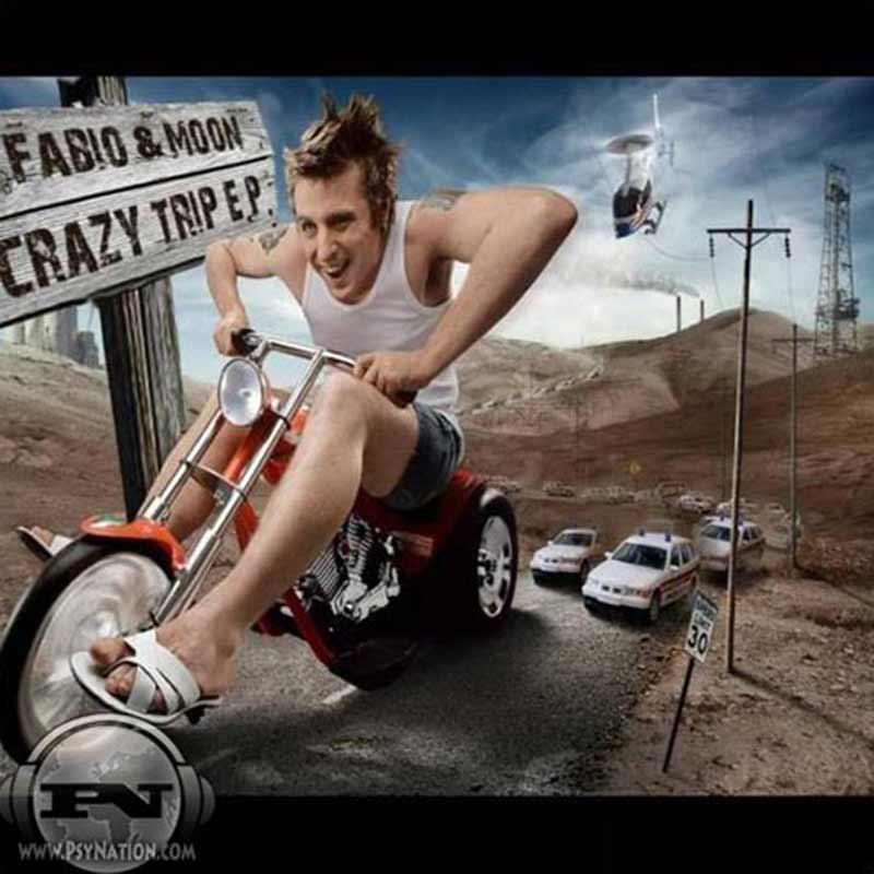 DJ Fabio & Moon - Crazy Trip EP