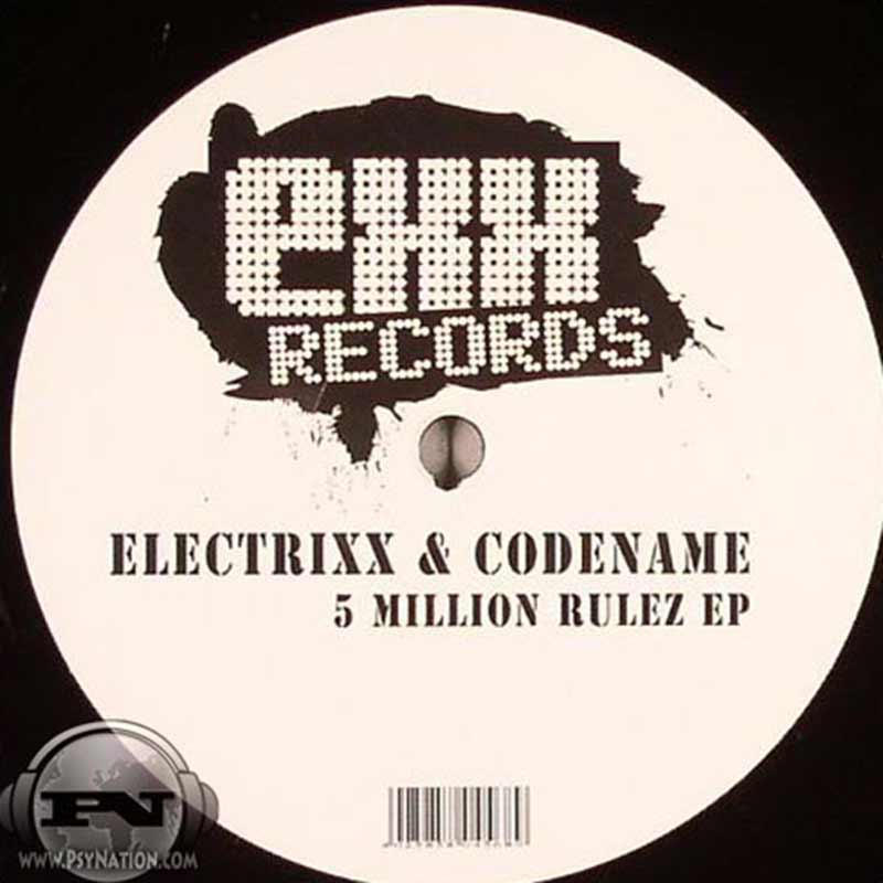 Electrixx & Codename - 5 Million Rulez EP