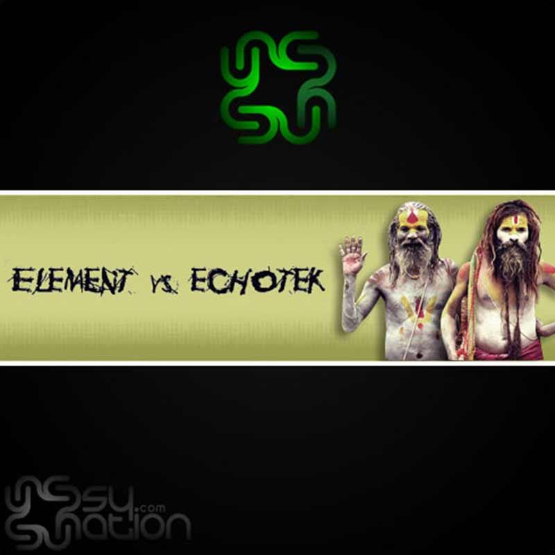 Element Vs. Echotek – We Come In Peace Vol. 1 (Set)