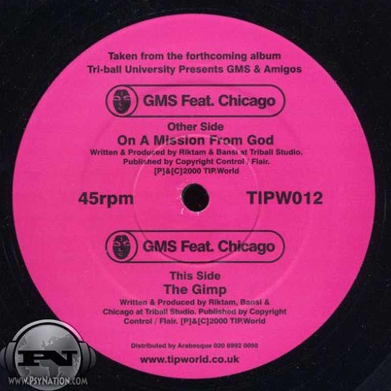 GMS Vs. Chicago - On A Mission From God / The Gimp EP