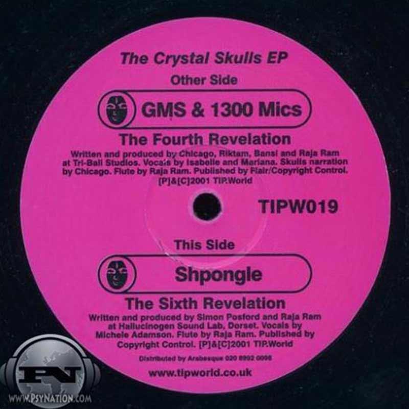 GMS, 1300 Mics & Shpongle - The Crystal Skulls EP