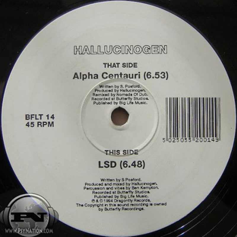 Hallucinogen - Alpha Centauri / LSD EP