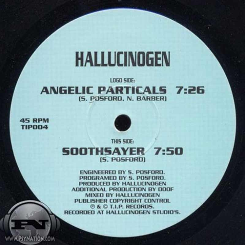 Hallucinogen - Angelic Particles / Soothsayer EP