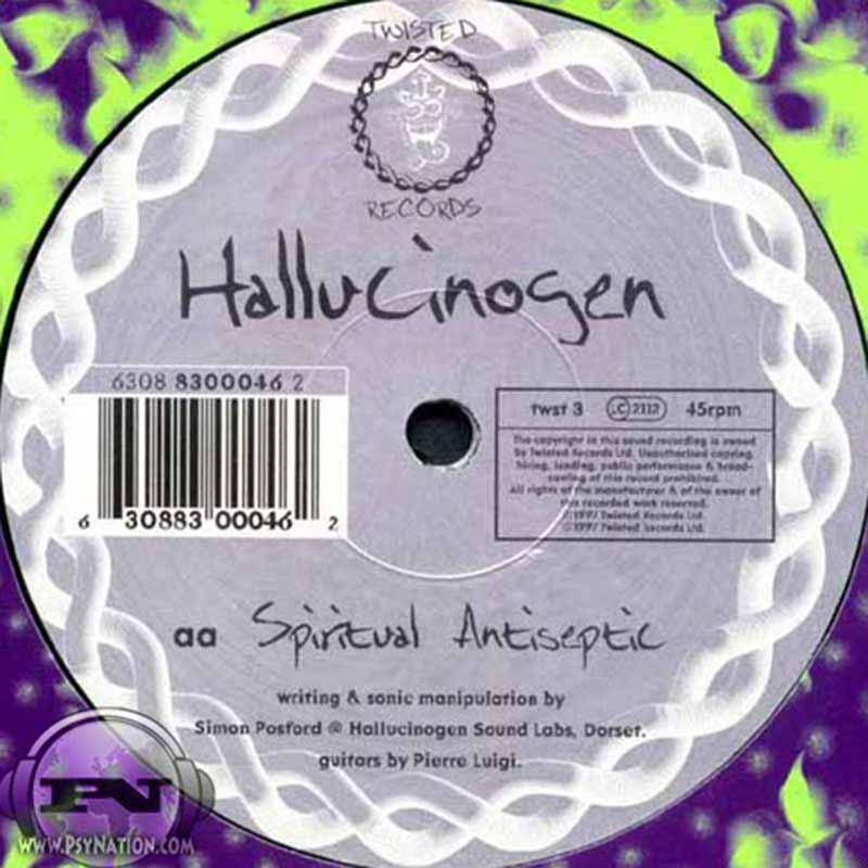 Prometheus Process & Hallucinogen - Clarity From Deep Fog / Spiritual Antiseptic EP