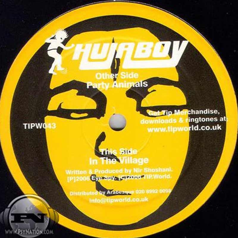Hujaboy - Party Animals / In The Village EP