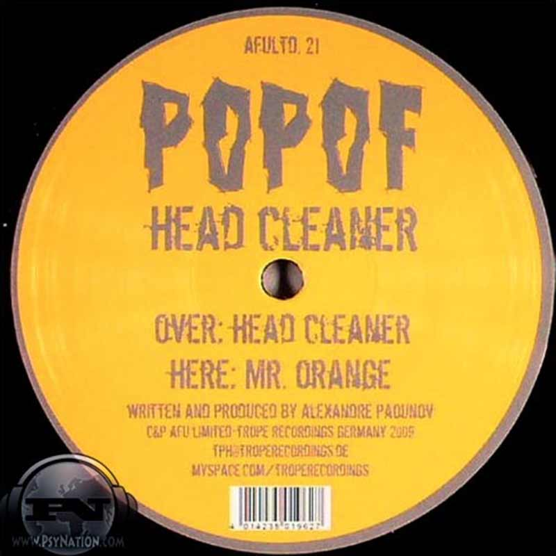 Popof - Head Cleaner EP