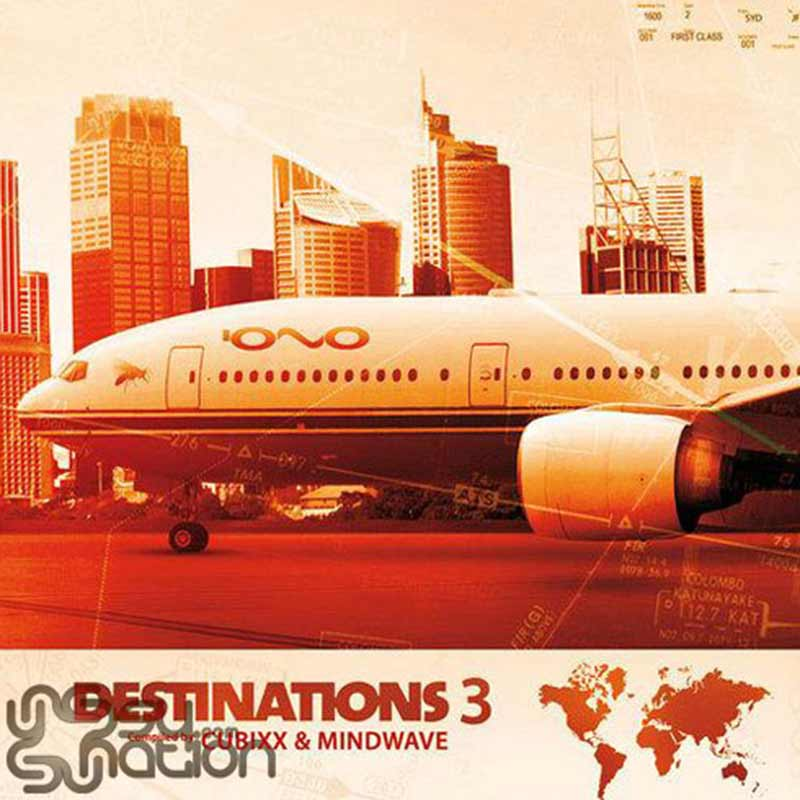 V.A. - Destinations 3 (Compiled by Cubixx & Mindwave)