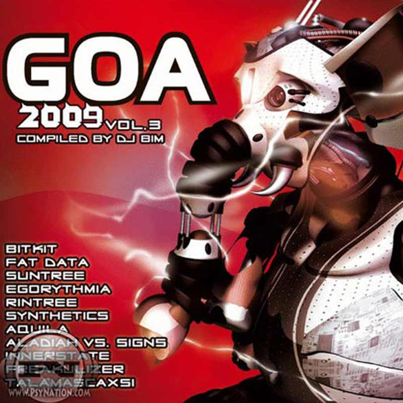 V.A. - GOA 2009 Vol. 3 (Compiled by DJ Bim)