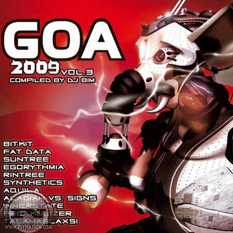 V.A. - GOA 2009 Vol. 3 (Compiled by DJ Bim)