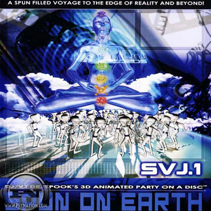 V.A. - Spun On Earth (Mixed & Compiled by Dr. Spook)