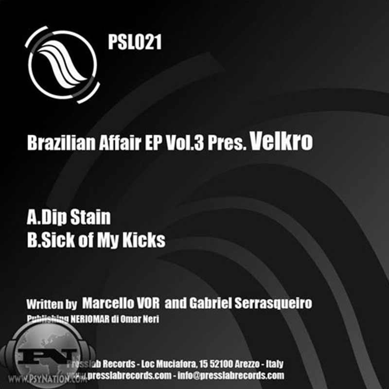 Velkro - Brazilian Affair Vol. 3